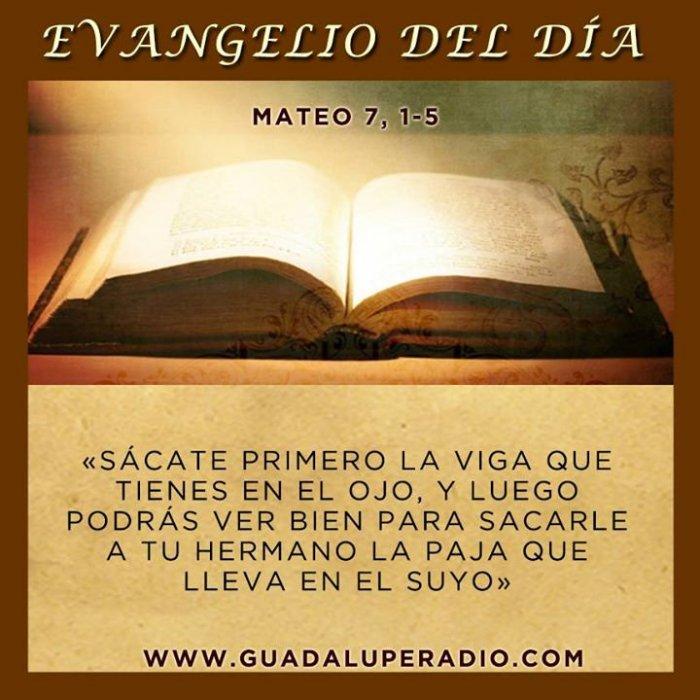 Contemplar el Evangelio de hoy lunes 25 de junio de 2018